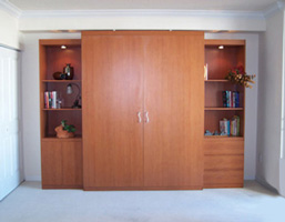 Bifold Bed with Two Side Cabinets image