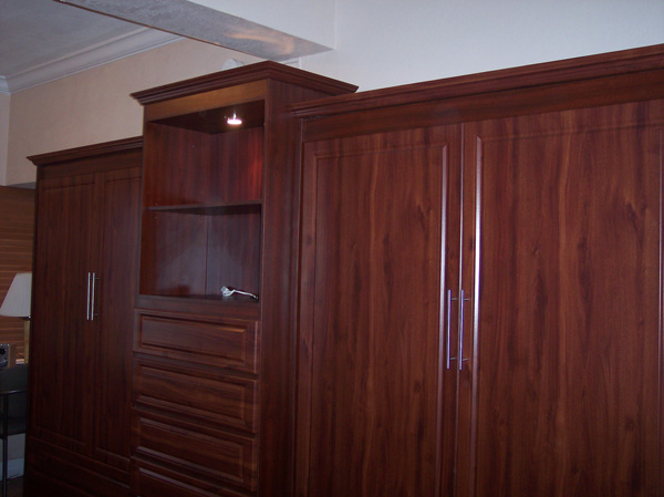 murphy bed panel two beds